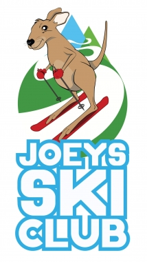 Joeys ski club on white